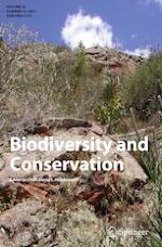 Biodiversity and Conservation 13/2021
