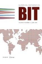 BIT Numerical Mathematics 2/2009