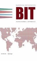 BIT Numerical Mathematics 3/2014