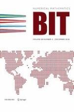 BIT Numerical Mathematics 4/2018