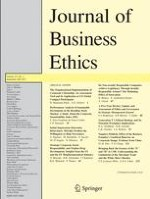 Journal of Business Ethics 1/2013