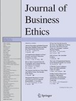 Journal of Business Ethics 3/2013