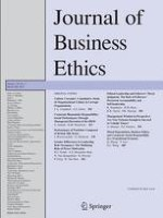 Journal of Business Ethics 3/2014