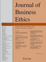 Journal of Business Ethics 4/2014