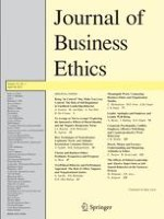 Journal of Business Ethics 1/2014