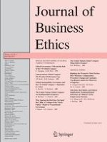 Journal of Business Ethics 2/2014