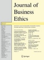 Journal of Business Ethics 1/2015