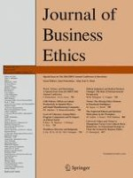 Journal of Business Ethics 4/2015