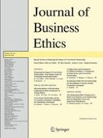 Journal of Business Ethics 1/2016
