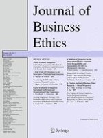 Journal of Business Ethics 3/2016