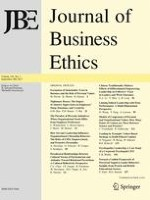 Journal of Business Ethics 1/2017