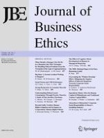Journal of Business Ethics 3/2017