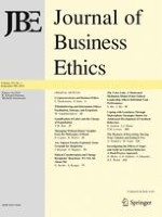 Journal of Business Ethics 1/2018