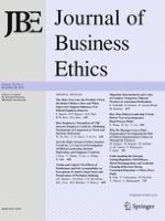 Journal of Business Ethics 3/2018
