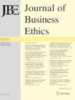 Journal of Business Ethics 1/2020