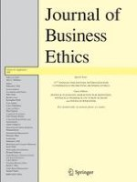 Journal of Business Ethics 1/2009