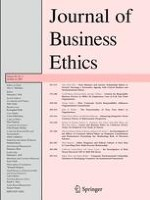 Journal of Business Ethics 2/2009