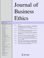 Journal of Business Ethics 3/2010