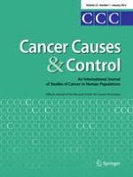 Cancer Causes & Control 1/2012