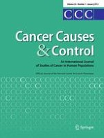 Cancer Causes & Control 1/2013