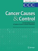 Cancer Causes & Control 1/2014