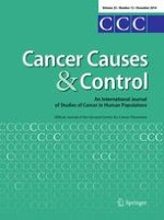 Cancer Causes & Control 12/2014