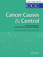 Cancer Causes & Control 10/2016
