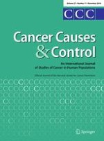 Cancer Causes & Control 11/2016