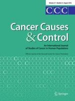 Cancer Causes & Control 8/2016