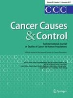 Cancer Causes & Control 11/2017