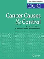 Cancer Causes & Control 9/2017