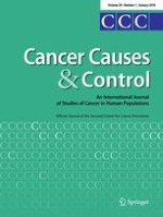 Cancer Causes & Control 1/2018