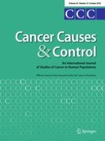 Cancer Causes & Control 10/2018