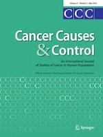 Cancer Causes & Control 5/2020