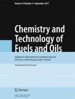 Chemistry and Technology of Fuels and Oils 4/2017