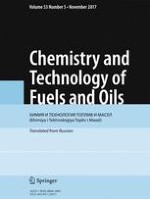 Chemistry and Technology of Fuels and Oils 5/2017