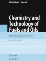 Chemistry and Technology of Fuels and Oils 1/2020