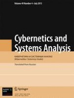 Cybernetics and Systems Analysis 4/2013