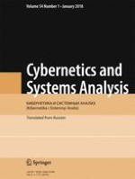 Cybernetics and Systems Analysis 1/2018
