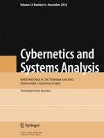 Cybernetics and Systems Analysis 6/2018