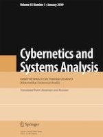 Cybernetics and Systems Analysis 1/2019