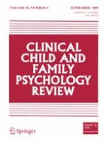 Clinical Child and Family Psychology Review 3/2007