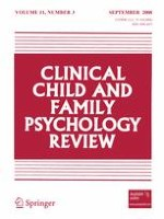 Clinical Child and Family Psychology Review 3/2008