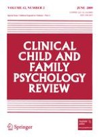 Clinical Child and Family Psychology Review 2/2009