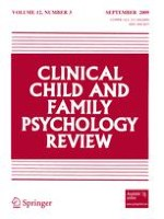 Clinical Child and Family Psychology Review 3/2009