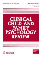 Clinical Child and Family Psychology Review 4/2009
