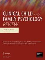 Clinical Child and Family Psychology Review 1/2012