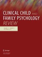 Clinical Child and Family Psychology Review 3/2014