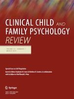 Clinical Child and Family Psychology Review 1/2019