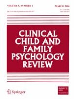 Clinical Child and Family Psychology Review 1/2006